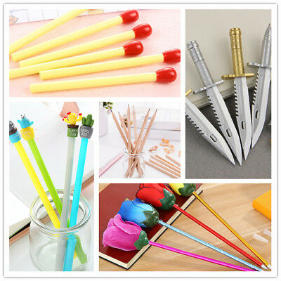 Ballpoint Pencil Gel Pen Writing Office School Student Stationery Creative Gift