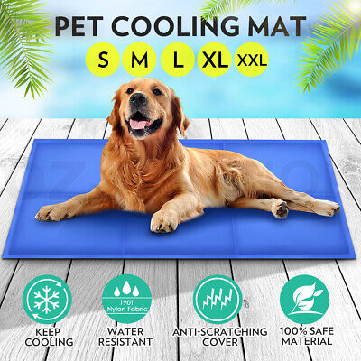 Pet Cooling Mat Puppy Dog Cat Bed Non-Toxic Cool Pet Gel Mat Pad for Cold Summer