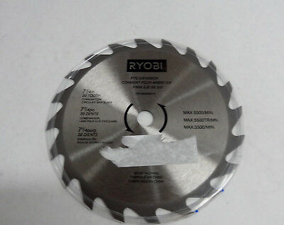 Ryobi 18v 7 14 20 tooth carbide tipped circular saw blade csb134l ryobi blade 20t steel ry 680856014 circular saw blade 1l387218f keyboard keysfo Image collections