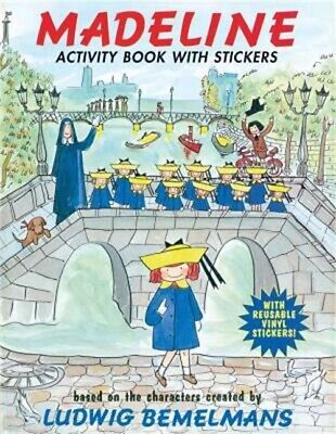 Madeline Activity Book with Stickers (Paperback or Softback)