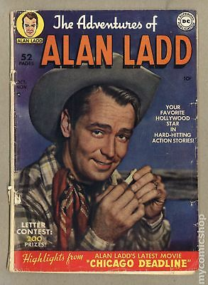 Adventures of Alan Ladd #1 1949 GD- 1.8