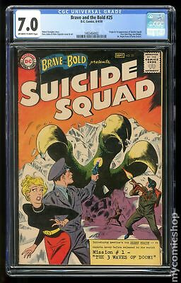 Brave and the Bold (1st Series DC) #25 1959 CGC 7.0 1465464002