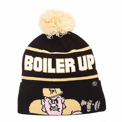 c67ddbad0a6 ... where to buy purdue boilermakers official ncaa bandit knit adjustable  beanie sock hat zephyr a64dd d5e5f