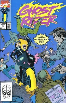 Ghost Rider (2nd Series) #2 1990 VG Stock Image Low Grade