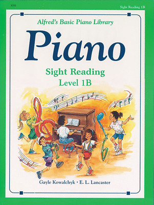 Alfred's Basic Piano Library Course: Sight Reading Book Level 1B *NEW*