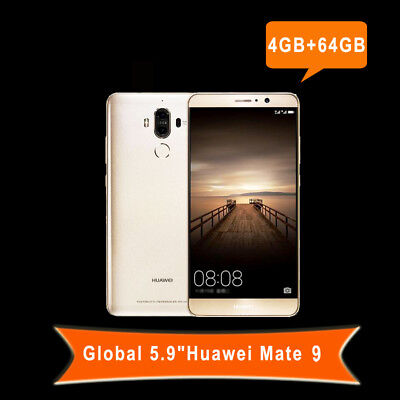 "5.9""Huawei Mate 9 4G 64GB Android7.0 8Core Dual SIM Téléphone Fingerprint Global"