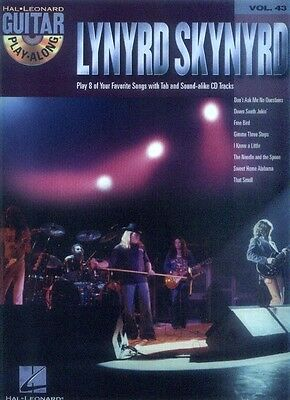 Lynyrd Skynyrd Guitar Play-Along Gitarre Noten Tab CD