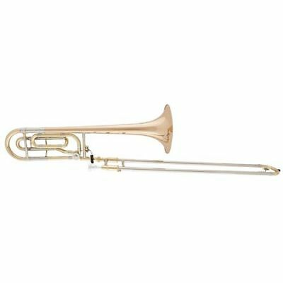 aS Arnolds & Sons ASL-420G Terra in B/F Posaune RETOURE - Goldmessing lackiert
