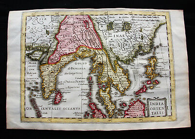 1676 VAN DER KEERE - orig. map: Indiae Orientalis, East Indies, Asia Philippines