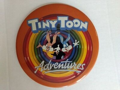 Vtg Tiny Toon Adventures Huge Pin Babs Buster Bunny Warner Bros Picture Rare htf