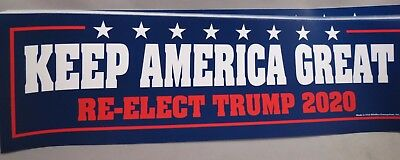 WHOLESALE LOT OF 10 TRUMP KEEP AMERICA GREAT RE-ELECT 2020 CAMPAIGN STICKER make