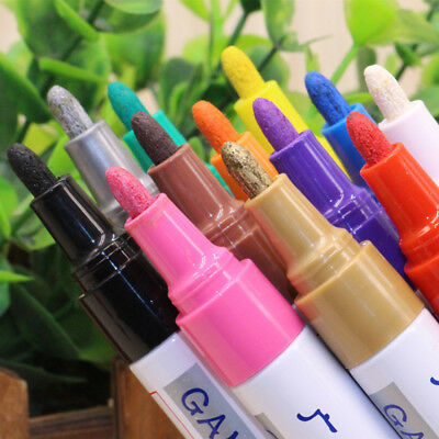 NEW Colorful TOUCH UP Pen Dye Stain Pigment Paint Writing Color Repair Portable