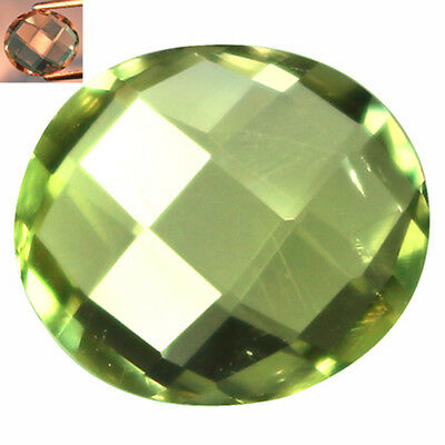 2.22Ct First-class Oval Cut 9 x 8 mm AAA Color Change Turkish Diaspore