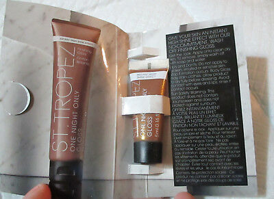 NEW ~ ST. TROPEZ One Night Only Finishing Gloss ~ Sample / Travel Size