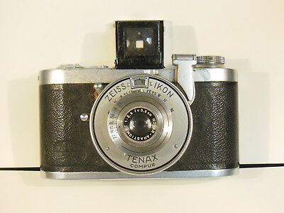 Zeiss Ikon  Camera   Tenax Compur   With Case   Germany