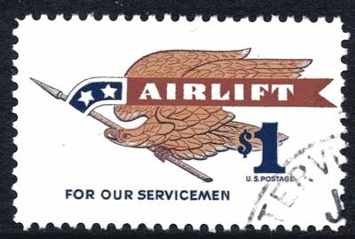 USA 1968 $1 Airlift Used