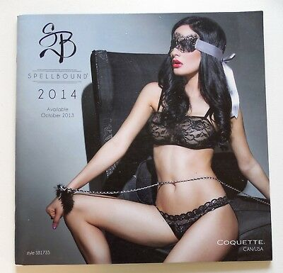 Spellbound by Coquette Clothing Lingerie Catalog 2014 Regular and Plus Size