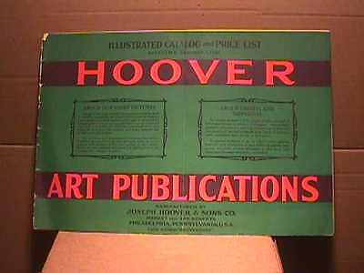 1929 Original Hoover Art Publication Calendar / Prints Salesman Catalogue