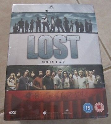 BRAND NEW Lost: Seasons 1 And 2 (14 Disc DVD Box Set ) FREE SHIPPING