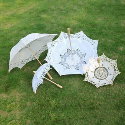 1PC Delicate Photography Wedding Party Lace Umbrella Parasol Bridal Fashion