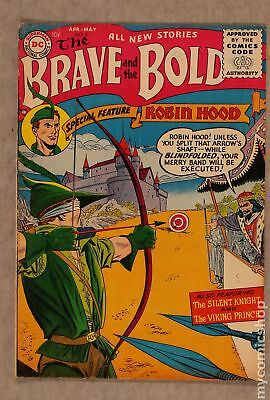 Brave and the Bold (1st Series DC) #5 1956 GD/VG 3.0