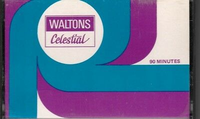 Waltons Celestial C90 Normal Position Type I Blank Audio Cassette - 1976