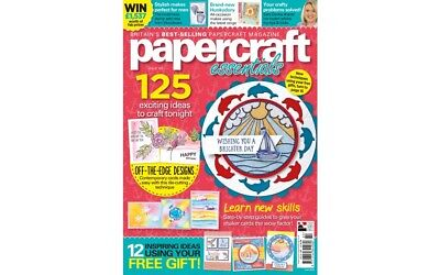 Papercraft Essentials Magazine Issue 160 + Whale Of A Time Die And Stamp Set