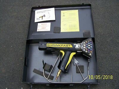 Shrinkfast 975 Heat Gun W/Case, Cage Gaurd & Manual
