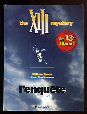 Xiii  T13   The Xiii  Mystery  L'enquete   Eo    1999    Vance Van Hamme