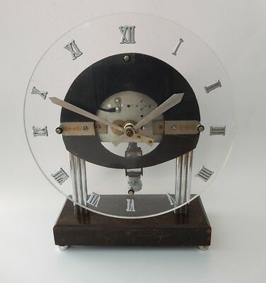 Extremely Rare French Bulle Electric Clock Made in  1920.     2804