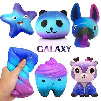 Galaxy Jumbo Slow Rising Squishies Squishy Squeeze Kids Toy Stress Reliever Aid