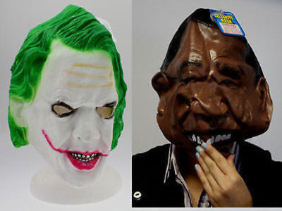 24 x Fancy Dress Up Mask Celebrity Look a Like 3 Assorted Bulk Wholesale lot