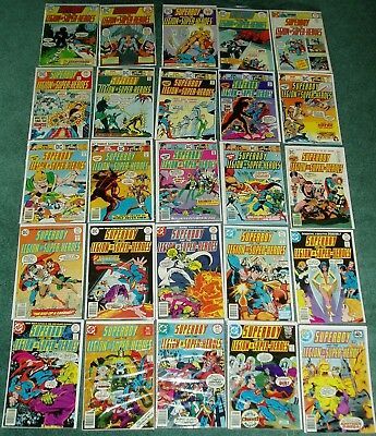 Lot Of 25 Superboy And The Legion Of Super-Heros #200-251