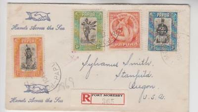 Papua Registered Cover