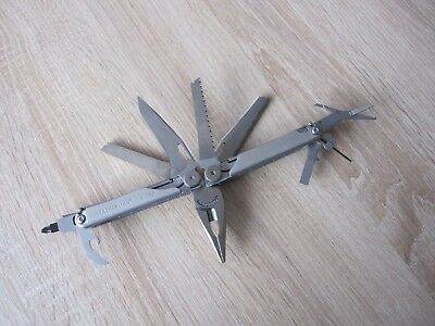 Leatherman Usa - Multitool - Modell Wave - Silberfarben - Neu