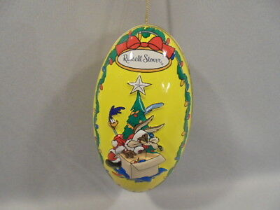 "Looney Tunes-Drolliges Ei-Ornament ""ROAD RUNNER & WILLE E COYOTE""1997"
