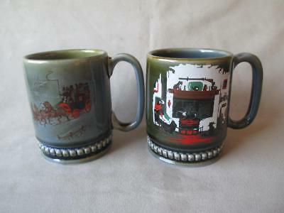 2 Wade Irish Porcelain Mugs