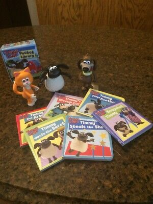 Its Timmy Time Figures Mittens Ruffy Plus 6 Board Books!