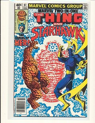 Marvel Two-In-One # 61 - 1st Her/Kismet VF/NM Cond.