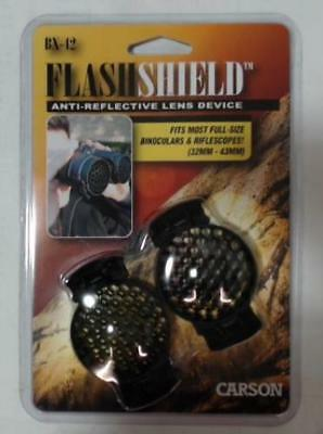 NEW Carson BX-42 FlashShield Kill Flash ARD Anti-Reflective Binocular Sunshades
