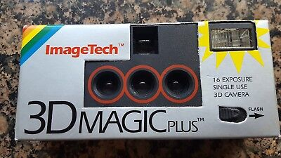 Vintage ImageTech 3D Magic Camera Never Used Open Box EXPIRED