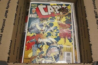Mixed Lot of Marvel Comics - Mostly Cable, some others - Medium Flat Rate Box