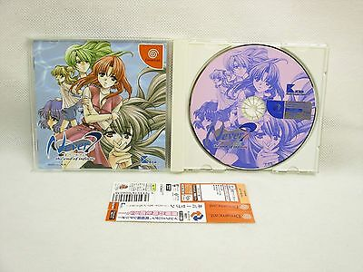 Dreamcast NEVER 7 the End of Infinity with Spine Card * Sega Japan Game dc