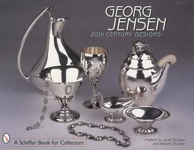 Georg Jensen 20th Century Jewelry Reference w Photo ID - Silver Metal Hollowware