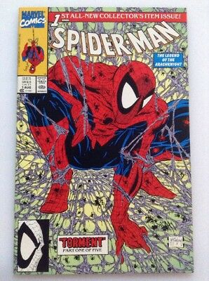SPIDER-MAN#1•1ST ALL-NEW COLLECTORS ITEM ISSUE•McFARLANE•TORMENT PART 1 OF 5