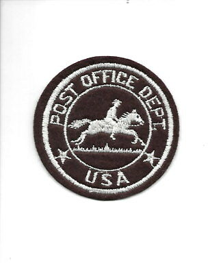 United States of America USA OLD felt post office patch