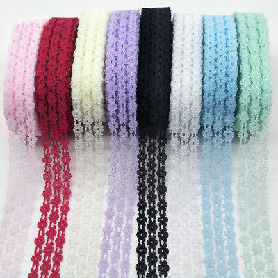 10 Yards Lace Ribbon 25MM Width Lace Trim Fabric Embroidered Net lace trimmings