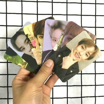 Kpop NCT U 2018 Empathy Paper Cards Self Made Autograph Photocard Poster Hot