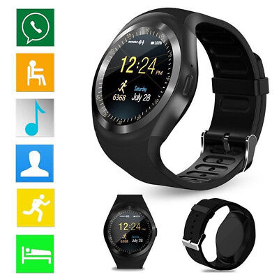 Waterproof Bluetooth Smart Watch Phone Mate For Android iPhone Samsung LG Y1 Lw