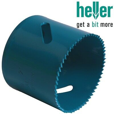GERMAN QUALITY HELLER HSS COBALT HOLESAWS Cuts Iron Stainless Steel Plastic Wood